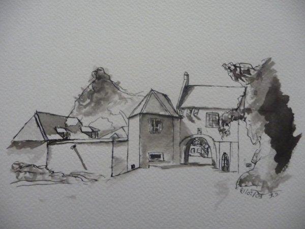 Blog de natsu art page 3 c 39 est de l 39 art - Dessin maison de campagne ...